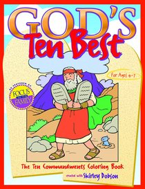Colouring Book: Gods Ten Best (Gods Ten Best Series)