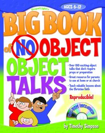 The Big Book of No-Object Object Talks (Cd-rom Included)