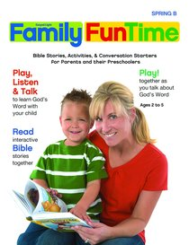 Gllw Springb 2017 Ages 2/3 4/5 Family Funtime Pages (Gospel Light Living Word Series)