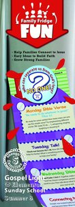 Gllw Summerb 2017 Grades 1-4 Family Fridge Fun (5 Packs For 5 Families) (Gospel Light Living Word Series)