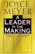 A Leader in the Making Hardback