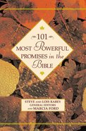 101 Most Powerful Promises in the Bible Hardback