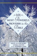 101 Most Powerful Proverbs in the Bible Hardback