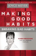 Making Good Habits, Breaking Bad Habits (Large Print)