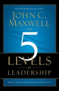 The 5 Levels of Leadership Paperback