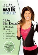 5 Day Slim Down (2008) (Walk At Home Series)