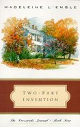 Two Part Invention Paperback