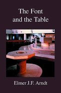 The Font and the Table Paperback