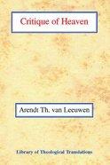 Critique of Heaven Paperback