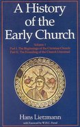 History of the Early Church (2 Volumes) Paperback