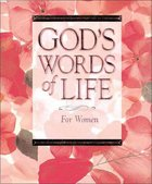 God's Words of Life For Women Hardback