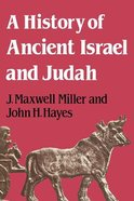 A History of Ancient Israel and Judah Paperback
