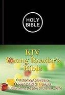 KJV Young Reader's Illustrated Black Imitation Leather