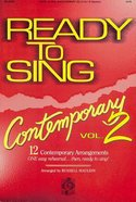 Ready to Sing Contemporary Volume 2 Paperback