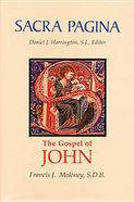 John's Gospel and Letters (#04 in Sacra Pagina Series)