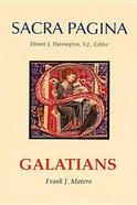 Galatians (#09 in Sacra Pagina Series)