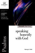 Psalms (7 Sessions, Advanced) (Leaders Guide) (Part 1) (Word Alive Guide Series) Paperback