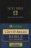 NRSV Gift & Award Bible With Apocrypha Black Imitation Leather