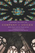 Company of Voices Paperback