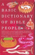 A Basic Dictionary of Bible People Paperback