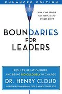 Boundaries For Leaders Hardback