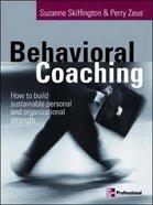 Behavioral Coaching Paperback