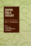 Shaping Public Theology Paperback