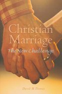 Christian Marriage (2nd Edition) Paperback