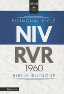 Rvr1960/Niv Biblia Bilingue Black (Bilingual Bible) Imitation Leather
