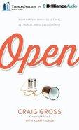 Open (Unabridged, 8 Cds) CD
