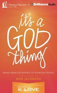 It's a God Thing (Unabridged, 8 Cds) CD