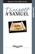 1 Samuel (Leader Guide, 12 Sessions, Intermediate) (Discover Your Bible Series) Paperback