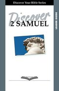 2 Samuel (Leader Guide, 12 Sessions, Intermediate) (Discover Your Bible Series) Paperback
