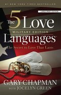 The 5 Love Languages Military Edition (Large Print) Paperback