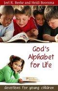 God's Alphabet For Life Paperback