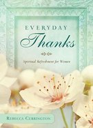 Everyday Thanks Paperback