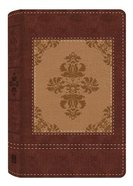KJV Study Bible Dicarta Heritage Tan/Cream Flexi Back