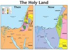 Wall Chart: Then and Now: Holy Land (Laminated) (Then And Now Series) Chart/card
