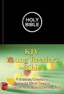 KJV Young Readers Illustrated Black