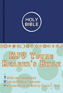 KJV Young Readers Illustrated Blue
