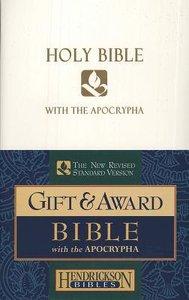 NRSV Gift & Award Bible With Apocrypha White