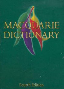 MACQUARIE DICTIONARY DOWNLOAD