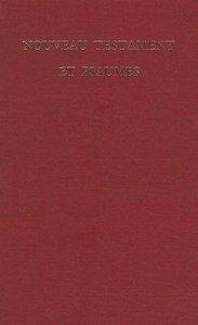 French New Testament & Psalms Ser383