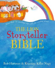The Lion Storyteller Bible (4 Cds Included)