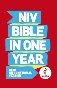 NIV Alpha Bible in One Year Paperback (10 Pack)