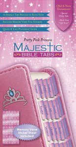 Majestic Bible Tabs Youth Princess