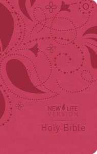 New Life Bible (Feminine Pink Cover)
