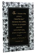 "Artisan Glass: For I Know the Plans (6"" X 9"") Plaque"