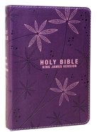 KJV Pocket Bible Purple Red Letter Edition Imitation Leather