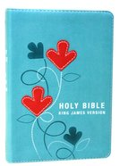 KJV Pocket Bible Turquoise Red Letter Edition Imitation Leather